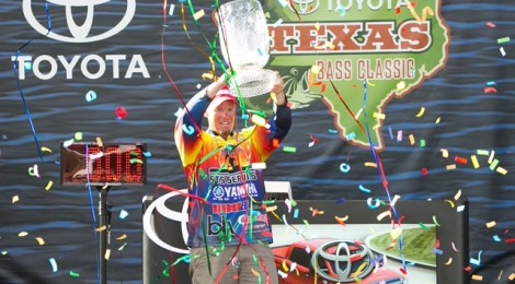 KEITH COMBS WINS TOYOTA TEXAS BASS CLASSIC