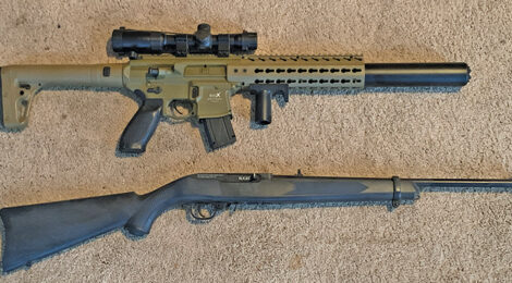 TC3's Airgun Arsenal